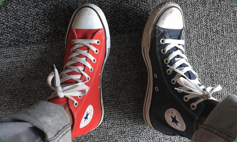 Zapatillas Converse All Star de Ruben Lara