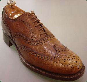 Zapatos para Hombre Full-Brogue Marrón