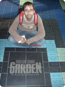 Ruben Lara Madison Square Garden