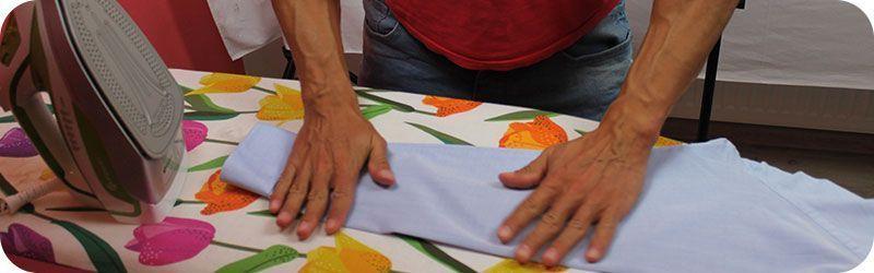 Planchar camisa sin plancha