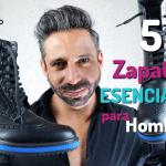5 Pares de Zapatos Esenciales para Hombre